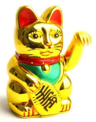 Gato de Feng Shui